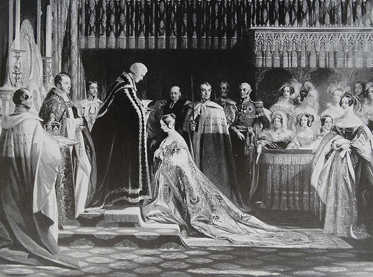 Коронація колореви Вікторії